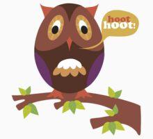 retro owl by emmz