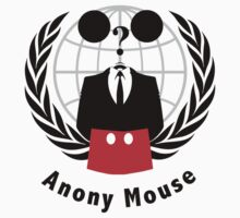 Anony-Mouse Kids Tee