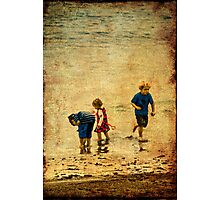 A Day at the Seaside Photographic Print