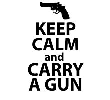 Carry a gun Photographic Print