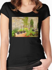 The Garden Centre Women's Fitted Scoop T-Shirt