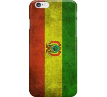 Old and Worn Distressed Vintage Flag of Bolivia iPhone Case/Skin