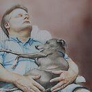 Russ and Tony-Nap Buddies by Charlotte Yealey