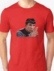 Insufficient Facts Always Invite Danger - Spock T-Shirt