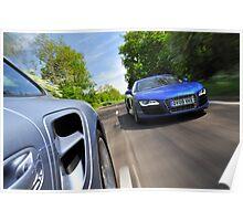 997 Turbo v R8 V10 .... Poster