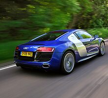 The Audi R8 V10 .... by M-Pics