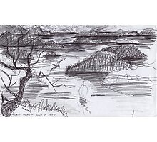 ENDLESS ISLANDS(INK PEN DRAWING)(C2007) Photographic Print
