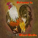 Mixed Media Welcome Banner by David's Photoshop