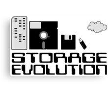 Storage evolution Canvas Print