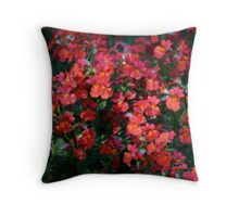 Flower bunch Throw Pillow