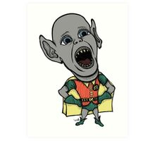 Bat Boy Wonder Art Print