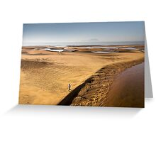 Early Morning Low Tide in the Lagoon Greeting Card