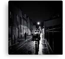 Late at Night - Montrouge, France, 2009 Canvas Print