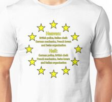 This is Europe Unisex T-Shirt