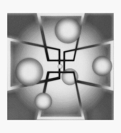 Temporal Matrix Photographic Print