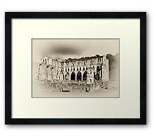 The Presbytery - Rievaulx Abbey Framed Print