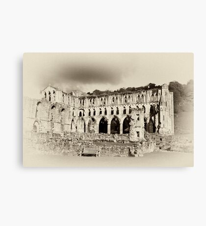 The Presbytery - Rievaulx Abbey Canvas Print
