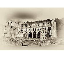 The Presbytery - Rievaulx Abbey Photographic Print