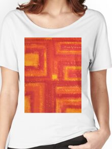 Navajo Rug original painting Women's Relaxed Fit T-Shirt