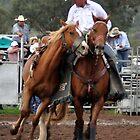 Upper Horton Rodeo - Steve Bradshaw - Pick up Man 2010 by wildfillies