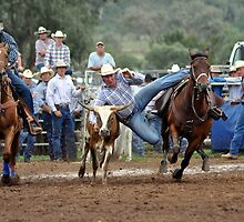 Upper Horton Rodeo - Steer Wrestling by wildfillies