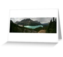Peyto Lake Greeting Card