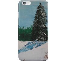 Snowy Hill iPhone Case/Skin