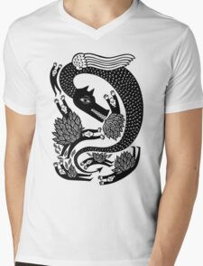And the dragon Mens V-Neck T-Shirt