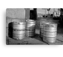 A Gang Of Stout Canvas Print