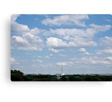 DC Skyline Canvas Print
