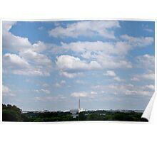 DC Skyline Poster