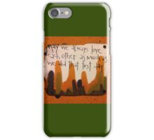 That First Day  iPhone Case/Skin