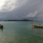 Bon Island, Phuket, Thailand (Stormy Weather) by PhuketDawn