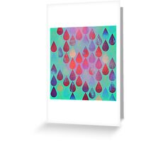 Rain 1 Greeting Card