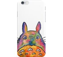 Cute Colorful Totoro! Tshirts + more! Jonny2may iPhone Case/Skin