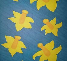 Pop Art Daffodils by DanielleGensler