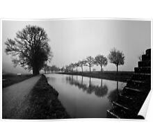Le Canal de Bourgogne Poster