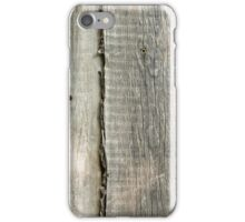 Wooden boards iPhone Case/Skin