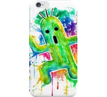 Cute Cactuar - Running Watercolor - Final fantasy - Jonny2may - Awesome!  iPhone Case/Skin