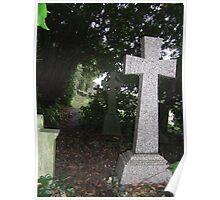 churchyard   hythe Poster