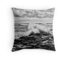 At the cutting edge of world change Throw Pillow