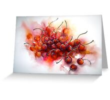 Cherries.. Riper Yet... Greeting Card