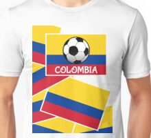 Colombia Football Unisex T-Shirt