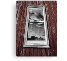 Picture Window Canvas Print