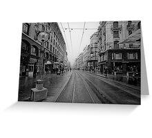 Rue de Marche Greeting Card