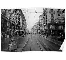 Rue de Marche Poster