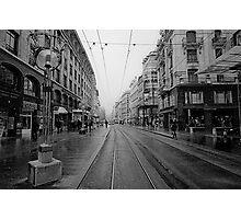 Rue de Marche Photographic Print