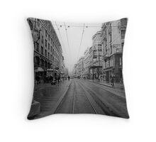 Rue de Marche Throw Pillow