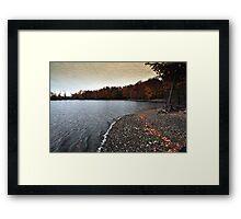 New York's Salmon river reservoir  IV Framed Print