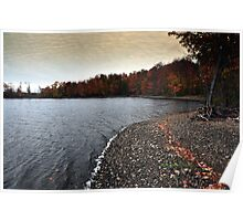 New York's Salmon river reservoir  IV Poster